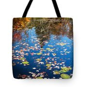 Autumn Reflections Tote Bag by Bill Wakeley