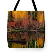Autumn Reflections Tote Bag