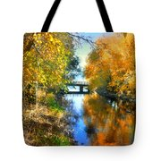Autumn Reflections On A Friday Afternoon Tote Bag