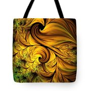 Autumn Returns Abstract Tote Bag