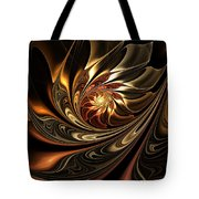 Autumn Reverie Abstract Tote Bag