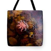 Autumn Ripples Tote Bag by Mike Reid