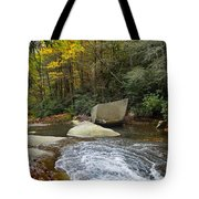 Autumn River Fall Tote Bag
