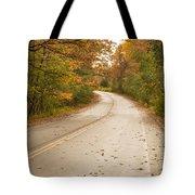 Autumn Road II Tote Bag