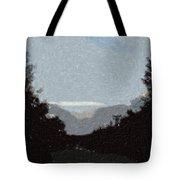 Autumn Roads Tote Bag