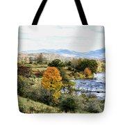 Autumn Rural Scene Tote Bag