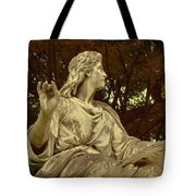 Red Autumn Sculpture Tote Bag