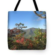 Autumn Smoky Mountains Tote Bag