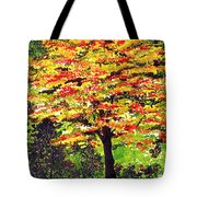 Autumn Splendor Tote Bag by Patricia Griffin Brett