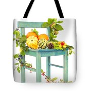 Autumn Still Life Chair Tote Bag