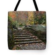 Autumn Stone Staircase Tote Bag