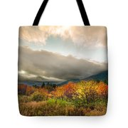 Autumn Storm Clearing Tote Bag