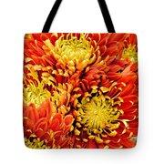 Autumn Sunrise Bouquet Tote Bag
