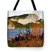 Autumn Sunset On The Hills Tote Bag