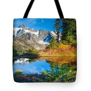 Autumn Tarn Tote Bag
