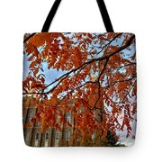 Autumn Temple Tote Bag