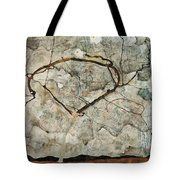 Autumn Tree In Stirred Air. Winter Tree Tote Bag