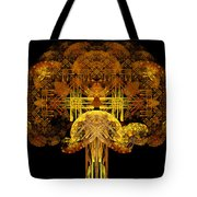Autumn Tree Tote Bag by Sandy Keeton