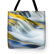 Autumn Trees Reflection Tote Bag