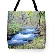 Autumn Tributary Tote Bag