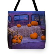 Autumn Truck Tote Bag