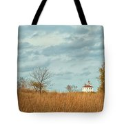 Autumn Twilight Pano Tote Bag