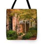 Autumn Walk In Pinehurst Tote Bag