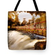 Autumn Waterfall / Maynooth Tote Bag by Barry O Carroll