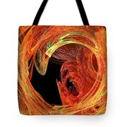 Autumn Waves Tote Bag by Andee Design