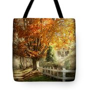 Autumn - Westfield Nj - I Love Autumn Tote Bag