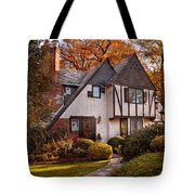 Autumn - Westfield Nj - Visting Grandpa's  Tote Bag