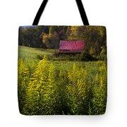 Autumn Wildflowers Tote Bag by Debra and Dave Vanderlaan