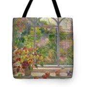 Autumn Windows Tote Bag