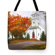 Autumn Worship Tote Bag