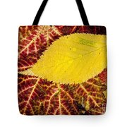Autumn Yellow Tote Bag