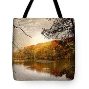 Autumn's Adieu Tote Bag