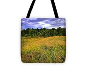 Autumns Brilliance Hdr Tote Bag