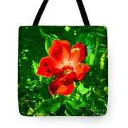Autumn's  Flower Tote Bag