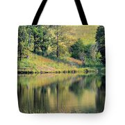 Autumn's Golden Peace Tote Bag