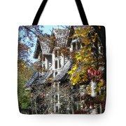Autumn's Windows Tote Bag