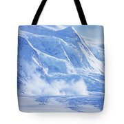 Avalanche At A Distance Tote Bag