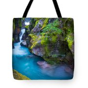 Avalanche Creek Gorge Tote Bag