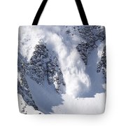 Avalanche I Tote Bag by Bill Gallagher