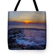 Avalon New Jersey Sunrise Tote Bag