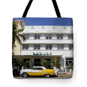 Avalon On Ocean Drive Tote Bag