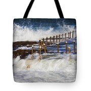 Avalon Rockpool In A Storm Tote Bag