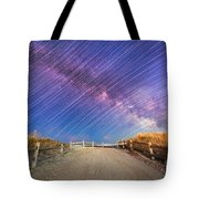 Avalon Star Trails  Tote Bag
