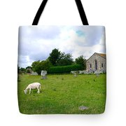 Avebury Stones And Sheep Tote Bag