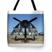 Abstract Avenger T B M Moffett Field Tote Bag