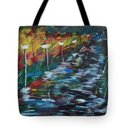Avenue Of Shadows Tote Bag